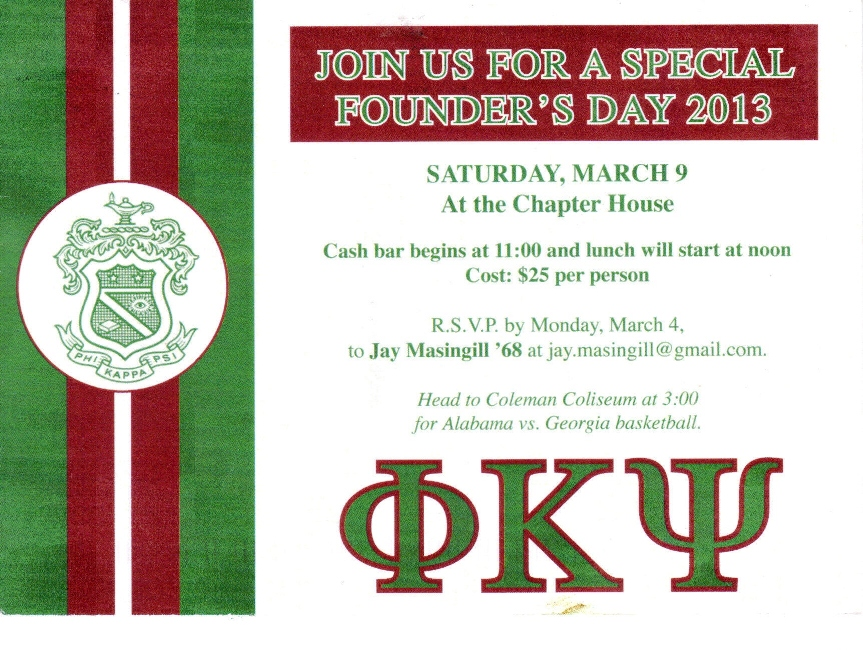 Founders Day 2013
